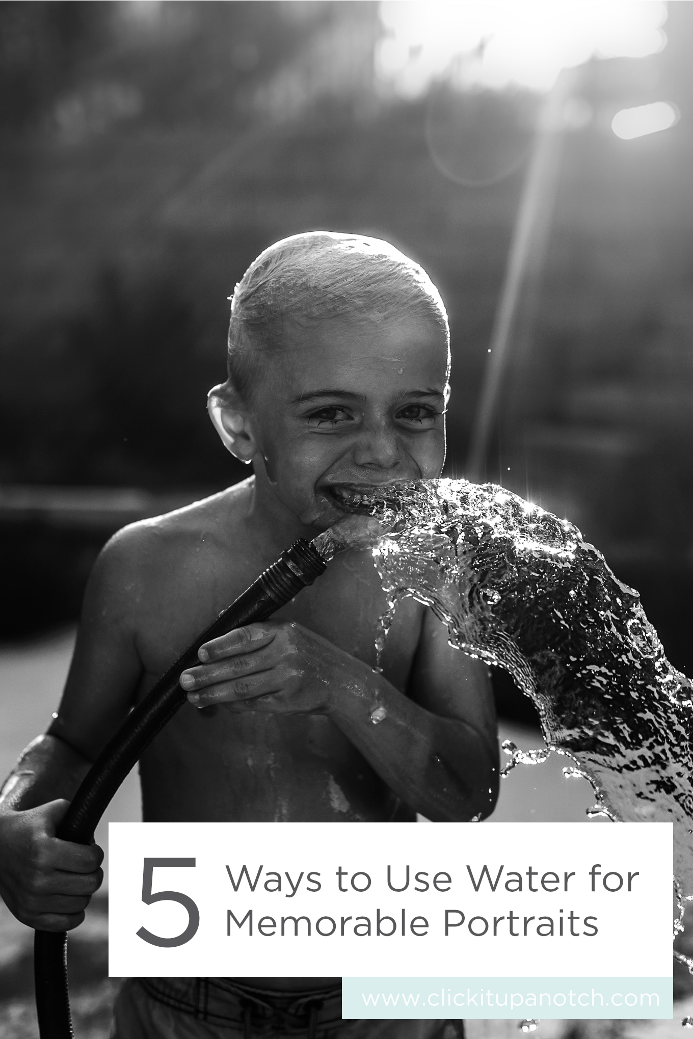 "This is a perfect read, just in time for summer! Read - ""Ways to Use Water for Memorable Portraits"""