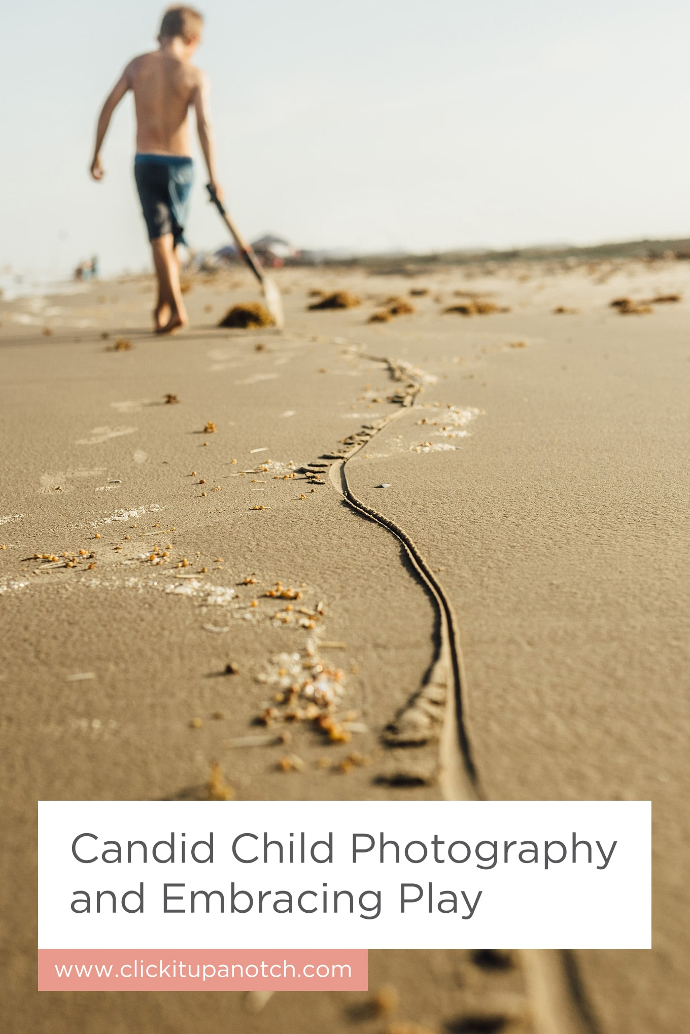 "A must read for any photographer with kids! Read - ""Candid Child Photography and Embracing Play"""