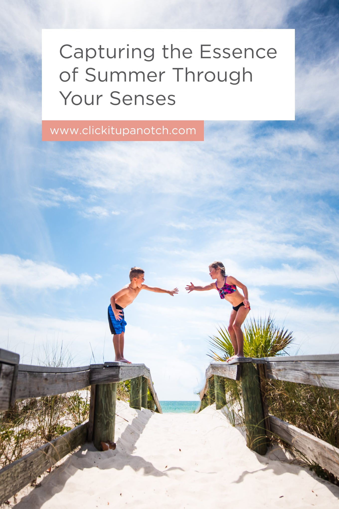 """I've never thought about capturing images based on the senses. What a fun summer photography idea! Read - """"Summer Photography: Capturing the Essence of Summer Through Your Senses"""""""