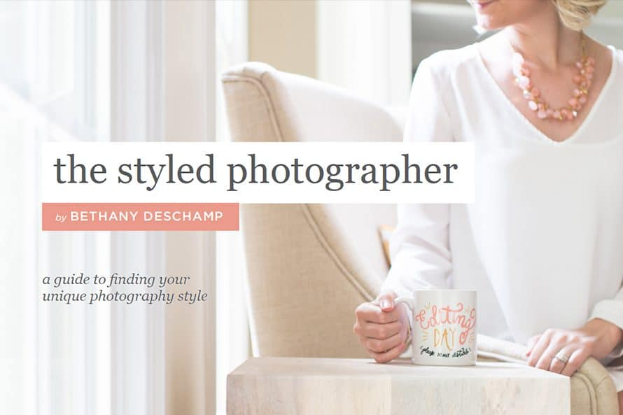 The Styled Photographer eBook