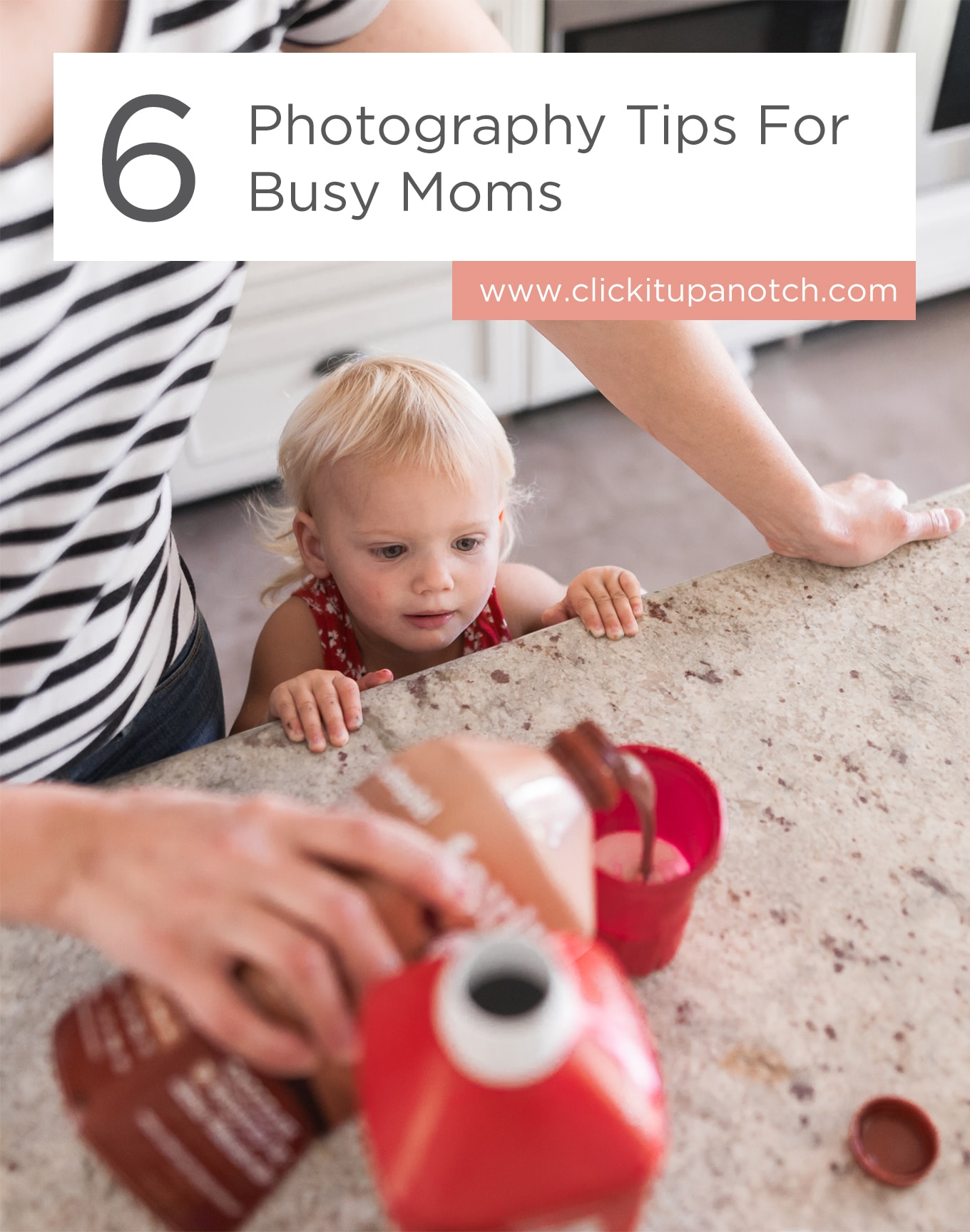 "I find it hard to juggle kids and photography and I think these tips will help so much! Read - ""6 Photography Tips for Busy Moms"""