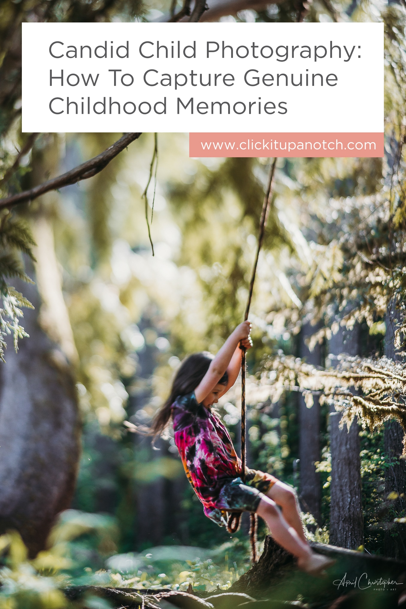 "What a great read for parents trying to capture memories beyond posing. Read - ""Candid Child Photography: How To Capture Genuine Childhood Memories"""