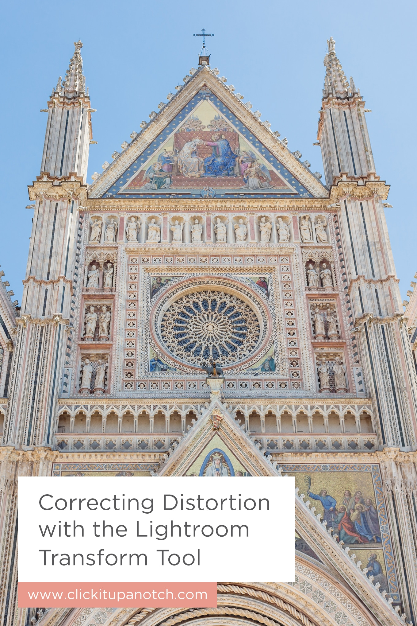 """I thought there was just one way to fix distortion. This is a game changer. Read """"Correcting Distortion with the Lightroom Transform Tool"""""""