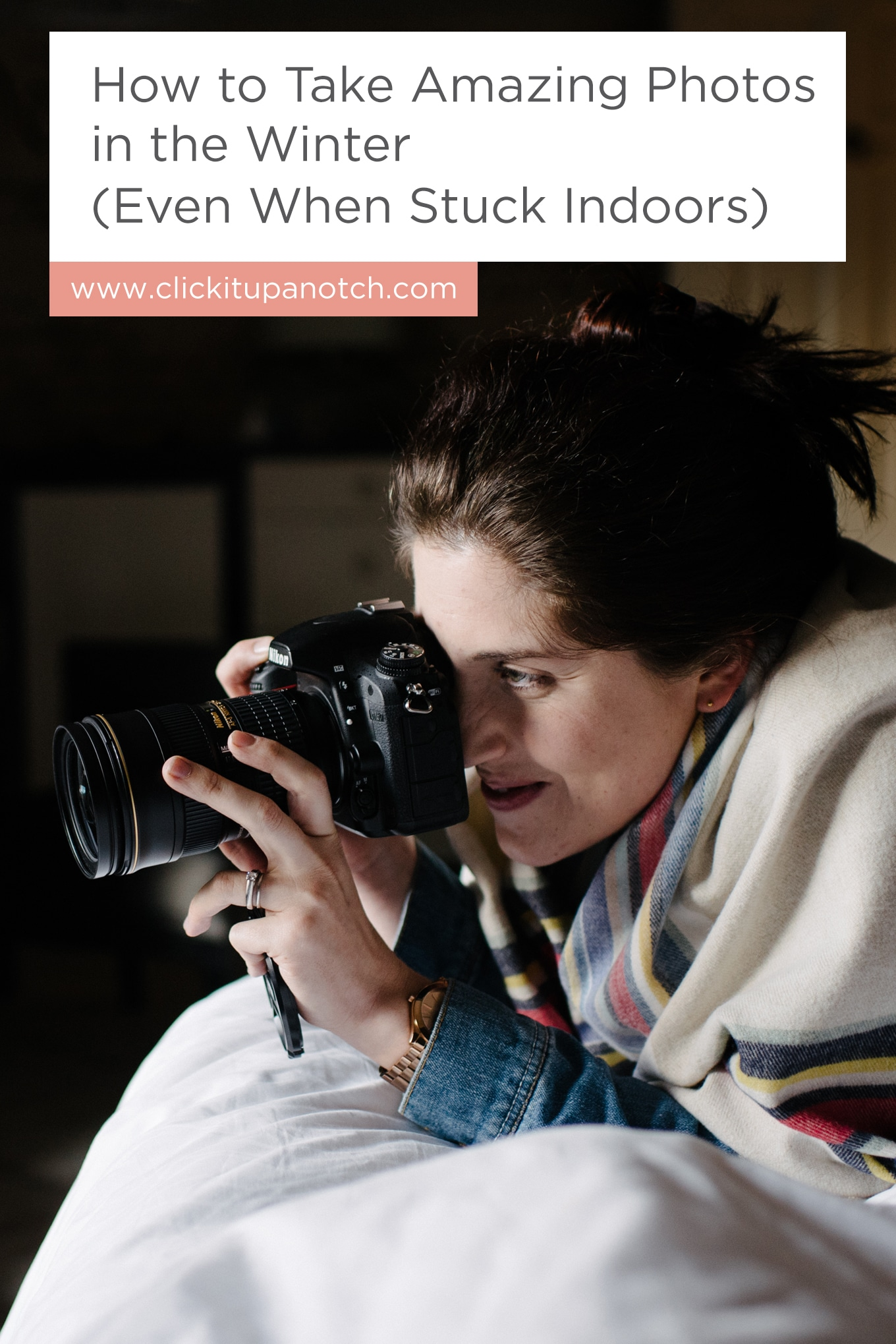 """This is going to come in handy now that the days are much shorter. I love that they all have a different perspective. Read - """"How to Take Amazing Photos in the Winter (Even When Stuck Indoors)"""""""