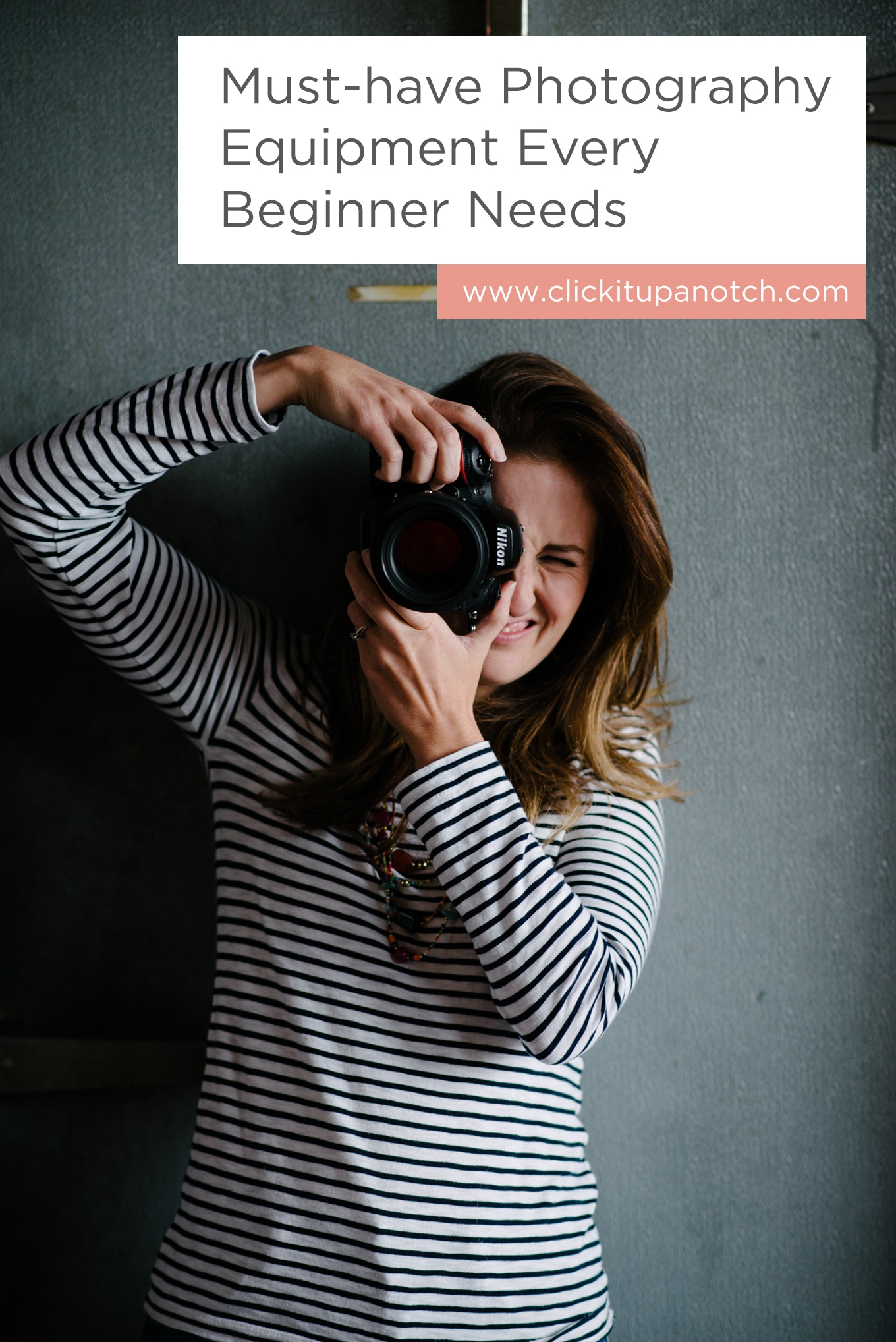 "Every beginner needs to get their hands on this list. Read - ""Must-have Photography Equipment Every Beginner Needs"""