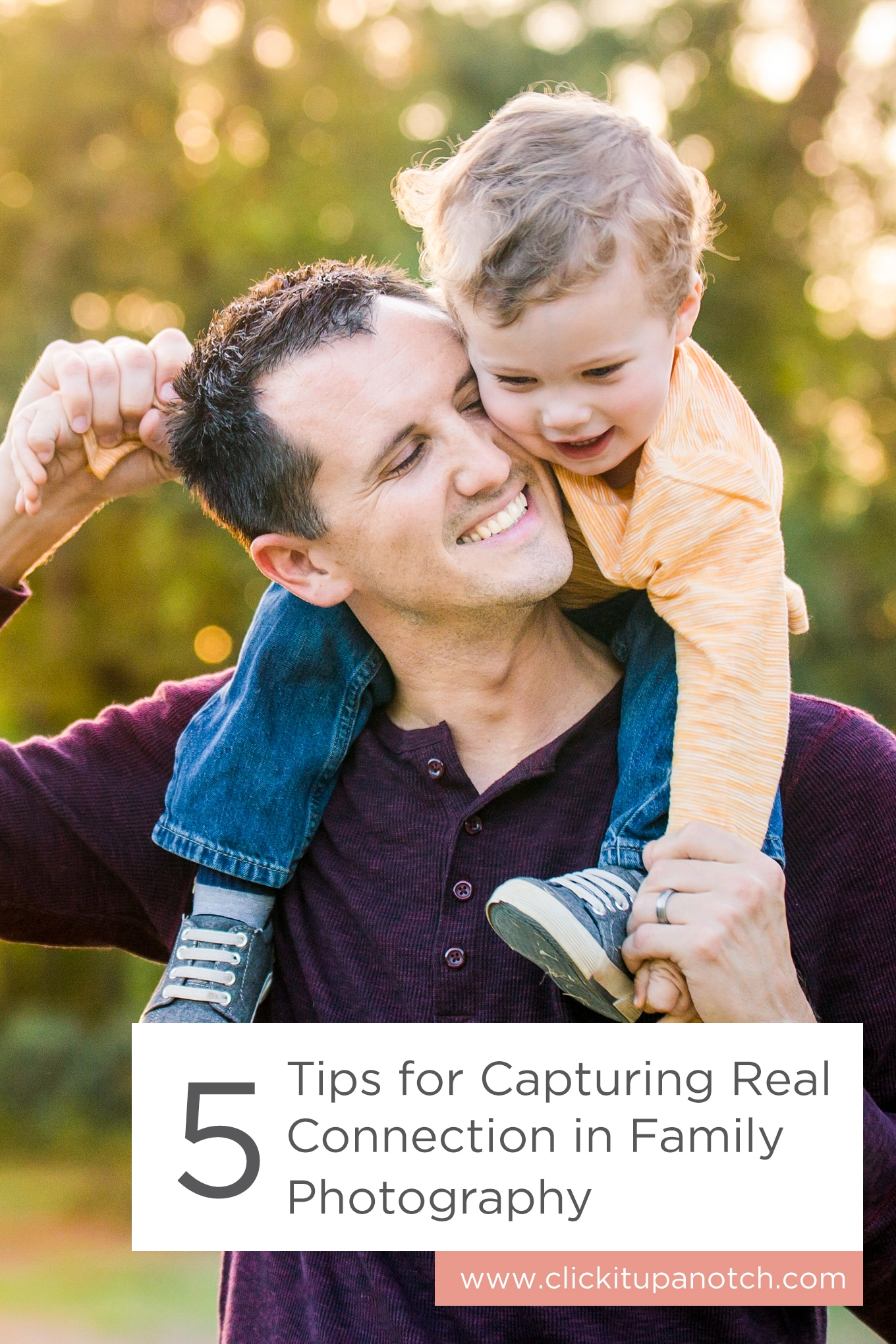 """This is a great read if you're interested in family photography. Read - """"5 Tips for Capturing Real Connection in Family Photography"""""""