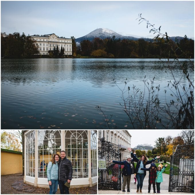 Filming locations of Sound of Music in Salzburg, Austria